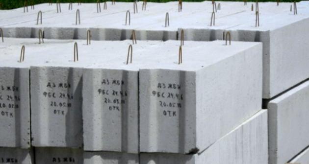 Фундаментные блоки стен - ФБС в Калининграде